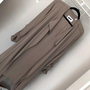 Babaton flowy trench coat